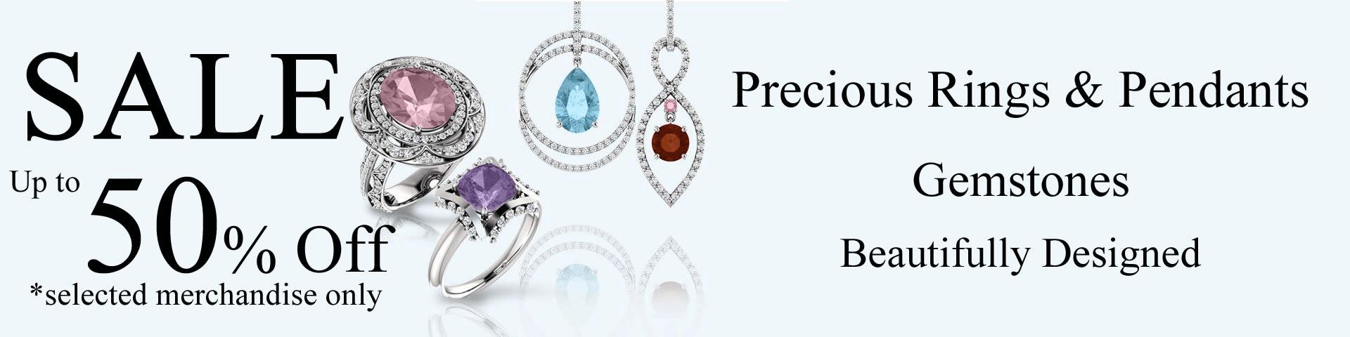 Gemstone Jewelry Sale
