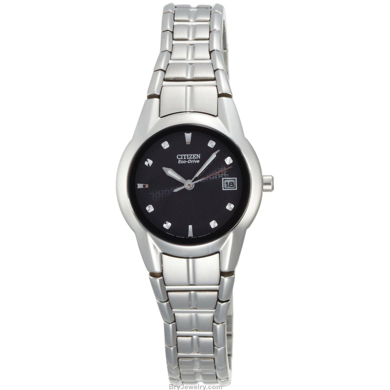 Citizen Women's EW1410-50E Eco-Drive Stainless Steel Watch