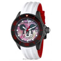 Invicta Women's Automatic Red Black White Disney's Limited Edition Watch