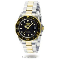 Invicta Men's 8927 Pro Diver Automatic 18K Two-Tone Watch