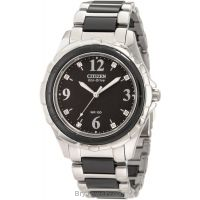 Citizen Women's EM0031-56E Ceramic Eco Drive Watch