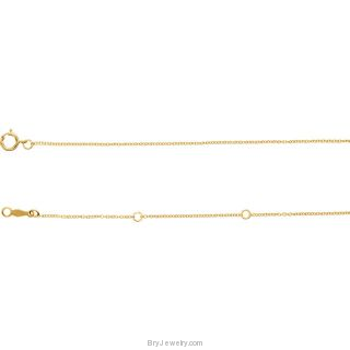 "Shark Tooth 14K Gold Adjustable 16-18"" Necklace"