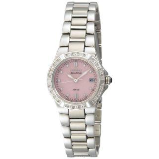 Citizen Women's EW0890-58X Eco-Drive Riva Diamond Accented Watch