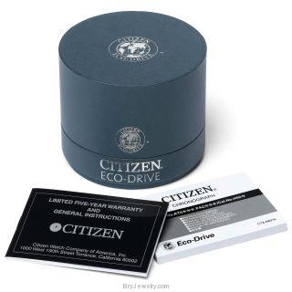 Citizen Women's FB1230-50A Eco Drive White Ceramic Diamond Watch