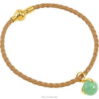 Missoma Rope Bracelet and Stone Charm