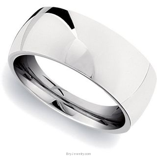 Stainless Steel Domed Ring