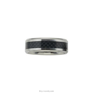 Dura Tungsten Black Carbon Fiber Band