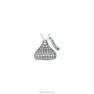 """HERSHEY'S KISSES Cubic Zirconia Birthstones 18"""" Necklace"""