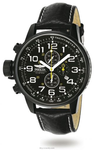 Invicta Men's 3332 Force Lefty Black Dial Chrono Watch