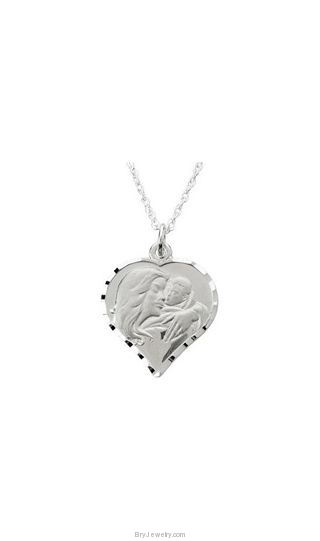 My Beautiful Child Heart Necklace and Pendant by Susan Howard